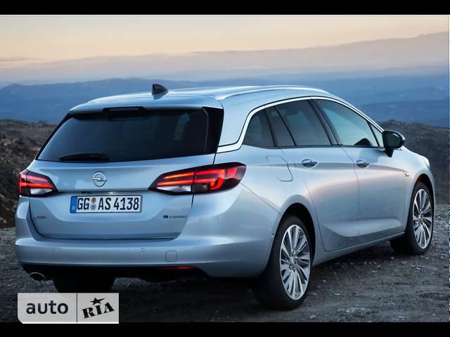 Opel Astra K 1.4 MT (125 л.с.) Start/Stop Dynamic