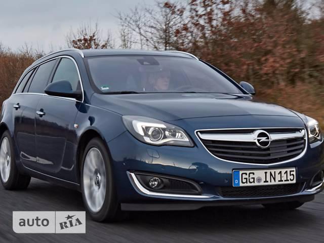 Opel Insignia 2.0D MT (170 л.с.) Start/Stop Edition