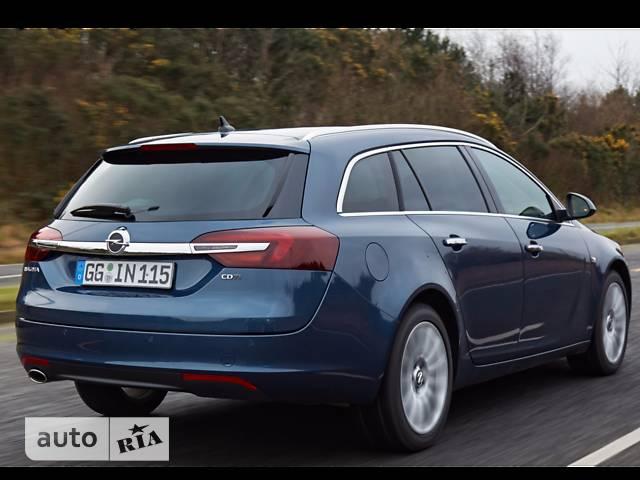 Opel Insignia 1.6D MT (120 л.с.) Start/Stop Edition