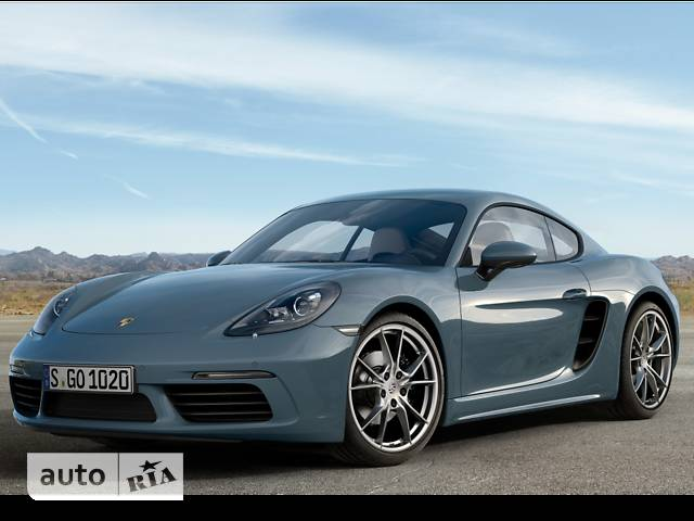 Porsche Cayman 718 2.0 AT (300 л.с.)