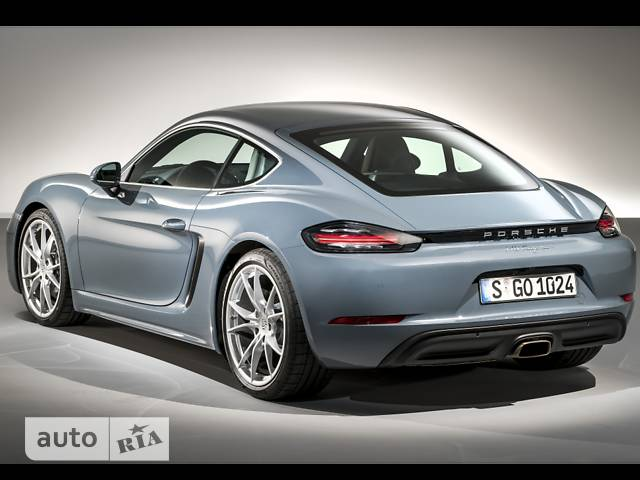 Porsche Cayman 718 S 2.5 AT (350 л.с.)