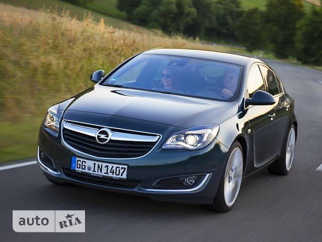 Opel Insignia 1.6D MT (120 л.с.) Start/Stop Base