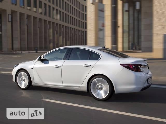 Opel Insignia 2.0D AT (170 л.с.) 4x4 Active