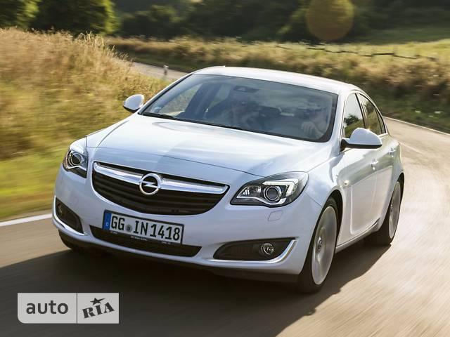Opel Insignia 1.6D MT (120 л.с.) Start/Stop ecoFLEX Cosmo