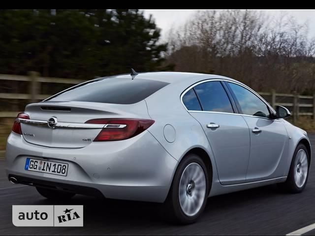 Opel Insignia 2.0D AT (170 л.с.) 4x4 Edition