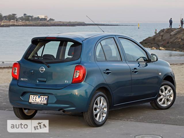 Nissan Micra 1.2 АТ (76 л.с.) Tekna