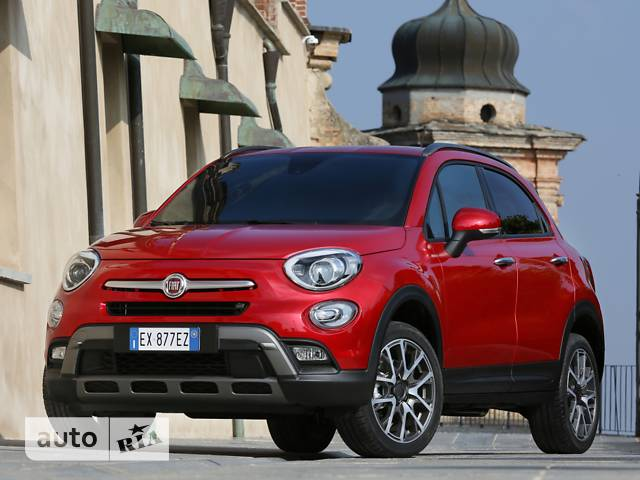 Fiat 500 X (cross) 1.4 AT (170 л.с.) AWD Mid