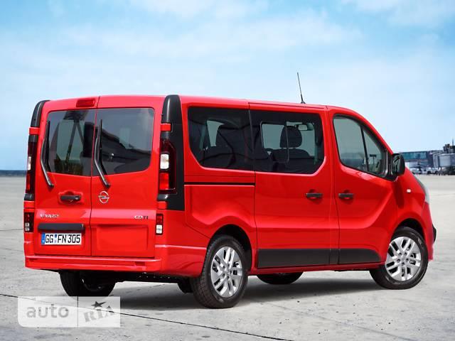 Opel Vivaro пасс. 1.6TD МТ (145 л.с.) L1H1 2.9T Start/Stop