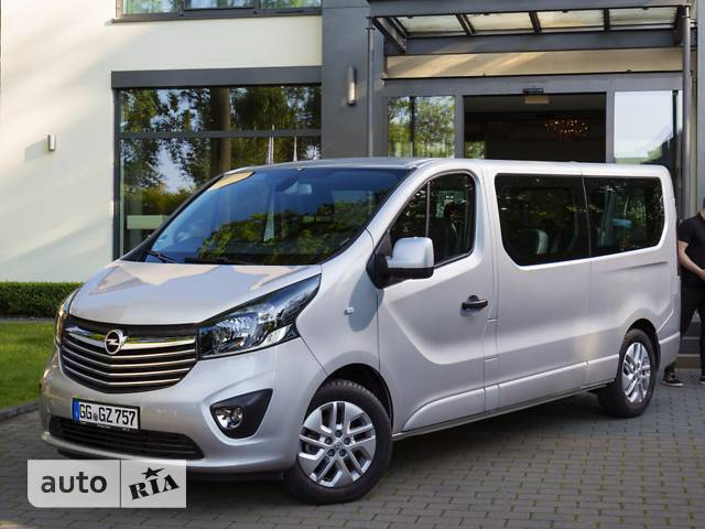 Opel Vivaro пасс. 1.6D МТ (115 л.с.) L2H1 2.9T
