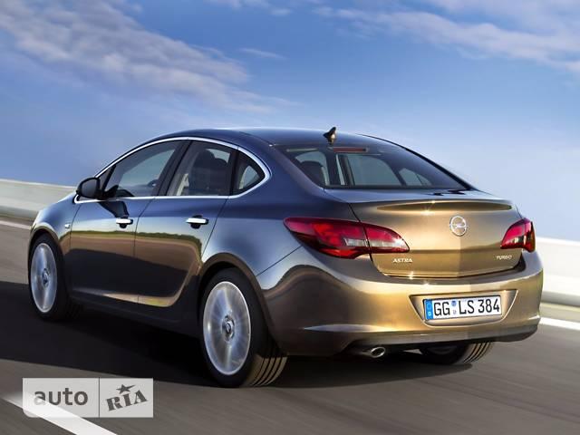 Opel Astra J 1.6D MT (136л.с.) Start/Stop ecoFLEX Enjoy