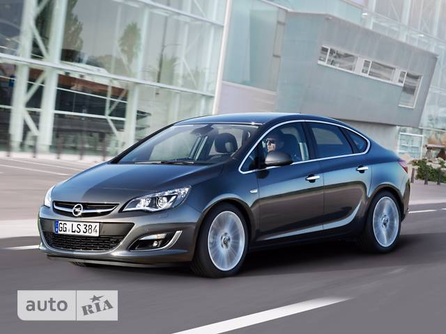 Opel Astra J 1.6D MT (110л.с.) Start/Stop Enjoy