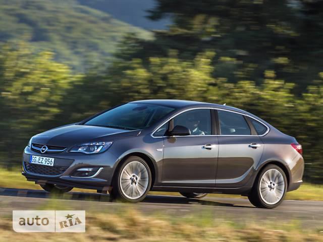 Opel Astra J 1.4 MT (140 л.с.) Start/Stop Enjoy
