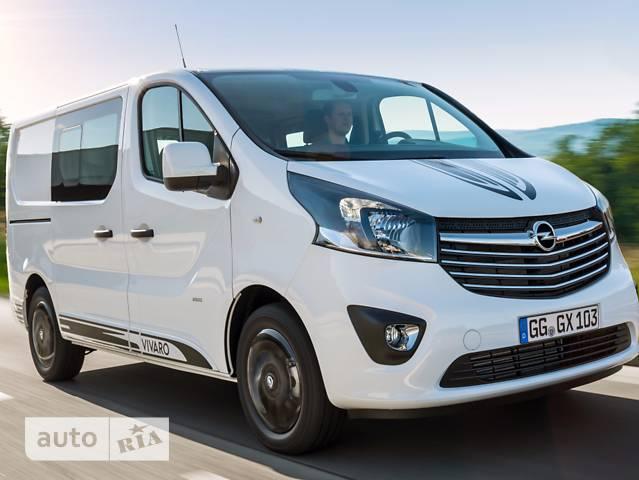 Opel Vivaro груз. Crew Van 1.6D MT (120 л.с.)  L1H1 2.9T