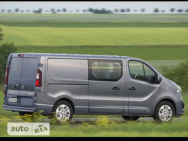 Opel Vivaro груз. Crew Van 1.6D MT (125 л.с.) L2H1 2.9T Start/Stop