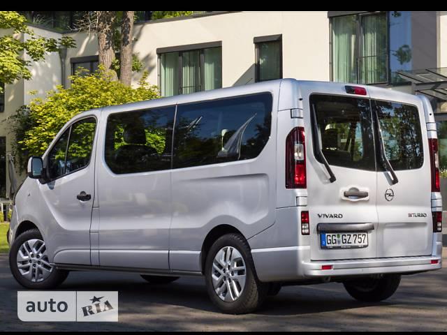 Opel Vivaro пасс. 1.6TD МТ (120 л.с.) L2H1 2.9T Start/Stop