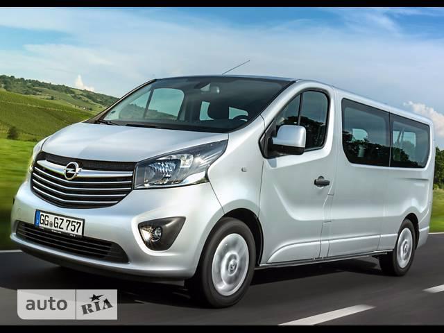 Opel Vivaro пасс. 1.6TD МТ (125 л.с.) L2H1 2.9T Start/Stop