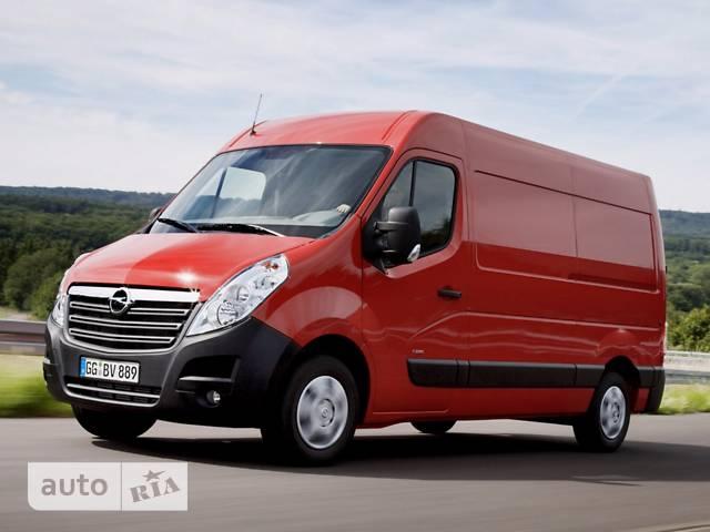 Opel Movano груз. Crew Van 2.3TD МТ (110 л.с.) Start/Stop L1H2 3300 FWD