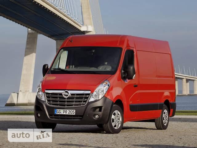 Opel Movano груз. Crew Van 2.3TD МТ (130 л.с.) L3H2 3500 Double Wheel RWD