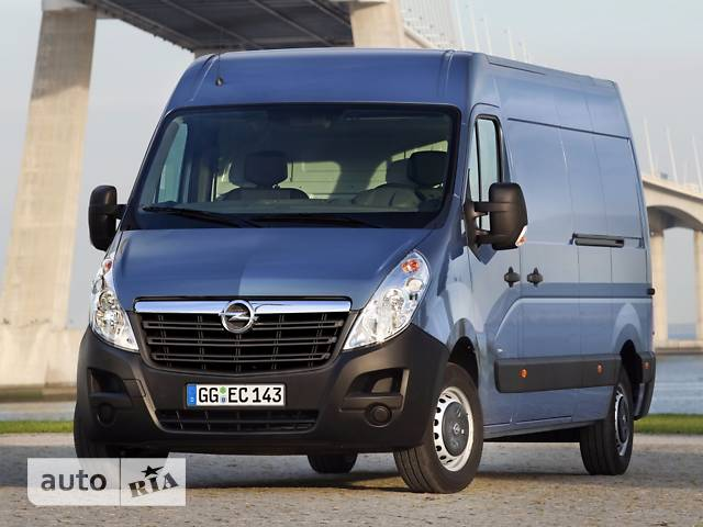 Opel Movano груз. 2.3TD МТ (163 л.с.) Start/Stop L3H2 4500 Double Wheel RWD