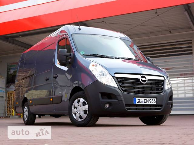 Opel Movano груз. 2.3TD МТ (145 л.с.) Start/Stop L3H2 3500 Double Wheel RWD