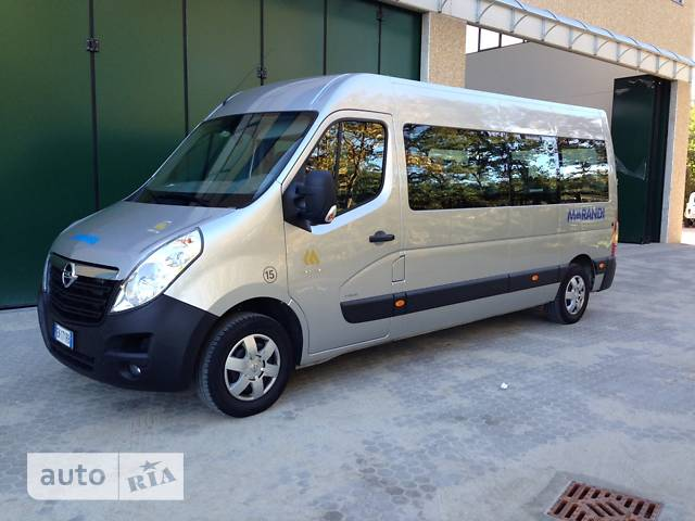 Opel Movano груз. 2.3TD МТ (163 л.с.) Start/Stop L3H2 3890 FWD