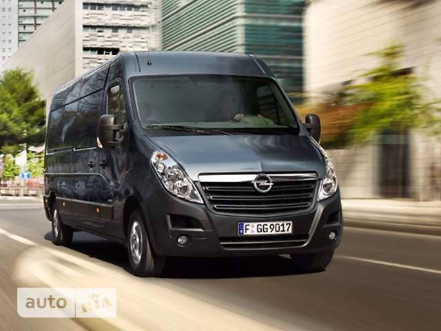 Opel Movano груз. 2.3TD МТ (163 л.с.) Start/Stop L2H3 3500 FWD