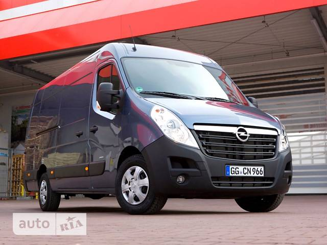 Opel Movano груз. 2.3TD МТ (110 л.с.) Start/Stop L2H2 3300 FWD