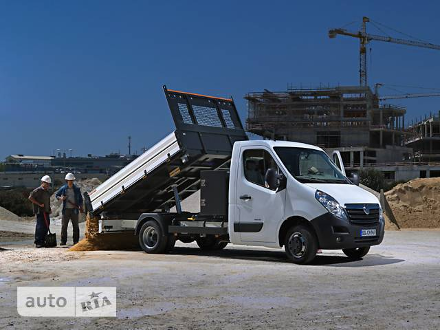 Opel Movano груз. Chassis Cab Tipper 2.3TD МТ (136 л.с.) Start/Stop L3H1 4500 Double Wheel RWD
