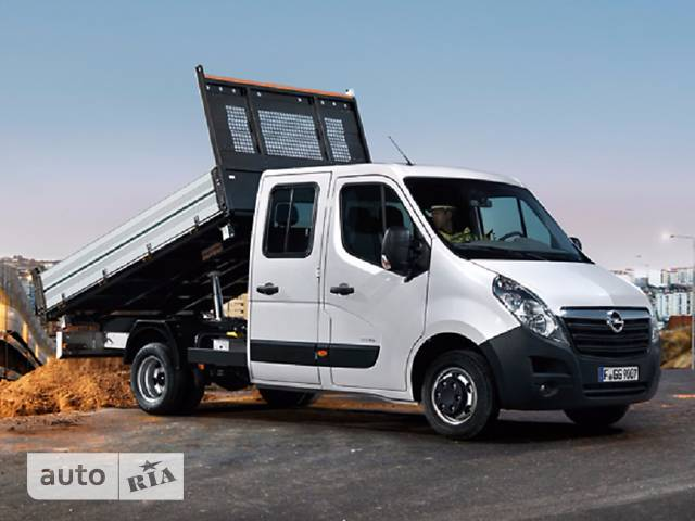 Opel Movano груз. Crew Cab Tipper 2.3TD МТ (136 л.с.) Start/Stop L3H1 3500 FWD