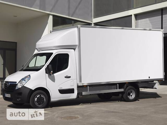 Opel Movano груз. Box Body 2.3TD МТ (136 л.с.) Start/Stop L4H1 3500 Double Wheel RWD