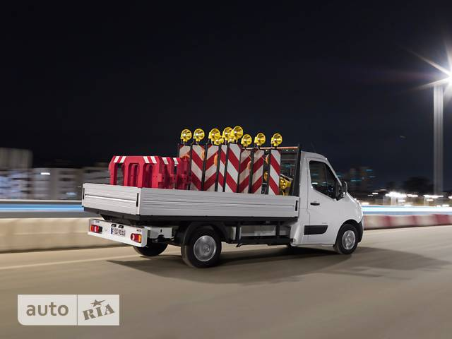 Opel Movano груз. Chassis Cab Dropside 2.3TD МТ (145 л.с.) Start/Stop L4H1 4500 Double Wheel RWD