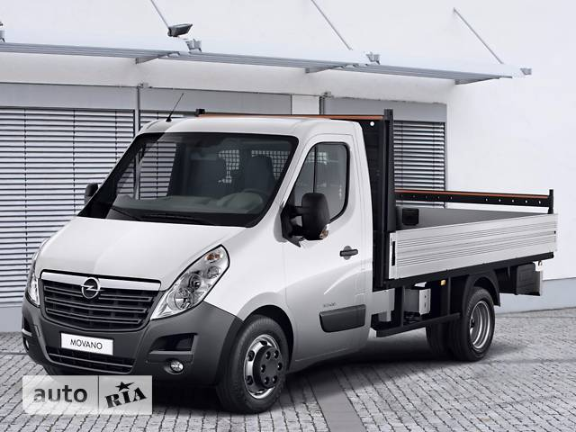 Opel Movano груз. Chassis Cab Dropside 2.3TD МТ (136 л.с.) Start/Stop L2H1 3500 RWD