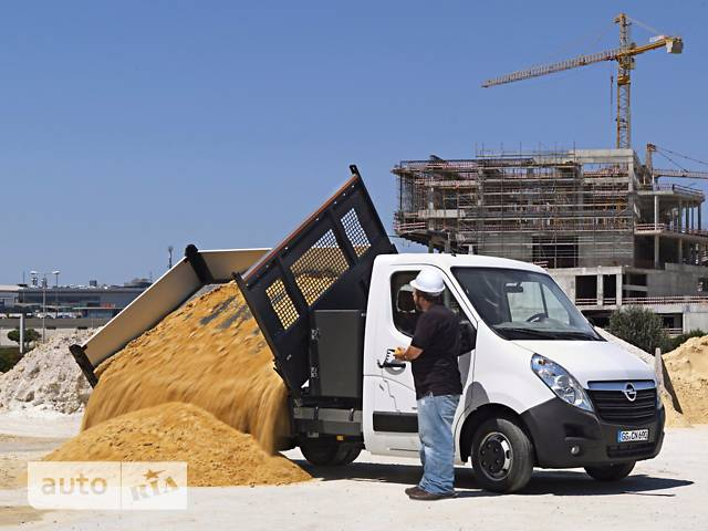 Opel Movano груз. Chassis Cab Dropside 2.3TD МТ (163 л.с.) Start/Stop L2H1 4500 Double Wheel RWD