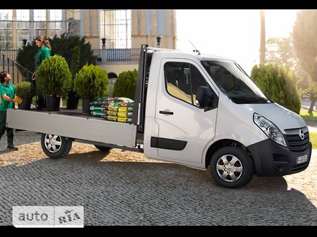 Opel Movano груз. Chassis Cab Dropside 2.3TD МТ (163 л.с.) Start/Stop L3H1 4500 Double Wheel RWD