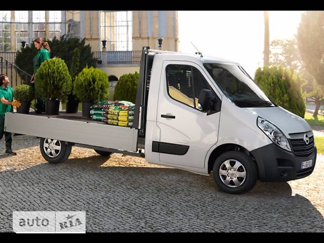 Opel Movano груз. Chassis Cab Dropside 2.3TD МТ (136 л.с.) Start/Stop L2H1 4500 Double Wheel RWD