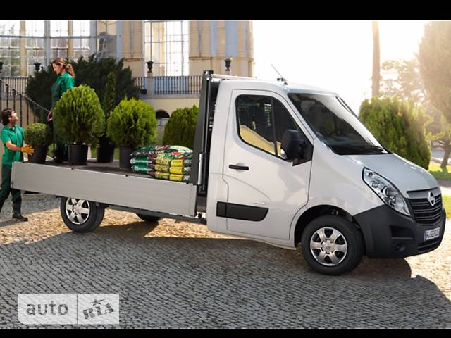 Opel Movano груз. Chassis Cab Dropside 2.3TD МТ (125 л.с.) L4H1 4500 Double Wheel RWD