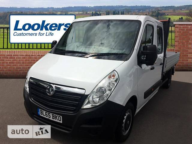 Opel Movano груз. Crew Cab Dropside 2.3TD МТ (163 л.с.) Start/Stop L4H1 3500 Double Wheel RWD