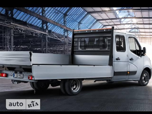 Opel Movano груз. Crew Cab Dropside 2.3TD МТ (125 л.с.) L2H1 3500 FWD