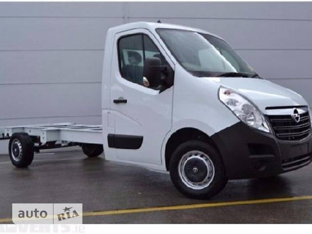 Opel Movano груз. Chassis Cab 2.3TD МТ (136 л.с.) Start/Stop L2H1 4500 Double Wheel RWD