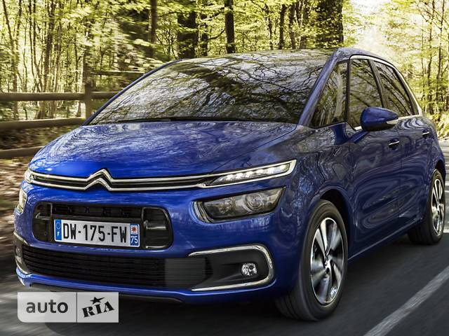 Citroen C4 Picasso 1.6 Blue-HDi АКПП (120 л.с.) Start/Stop Shine