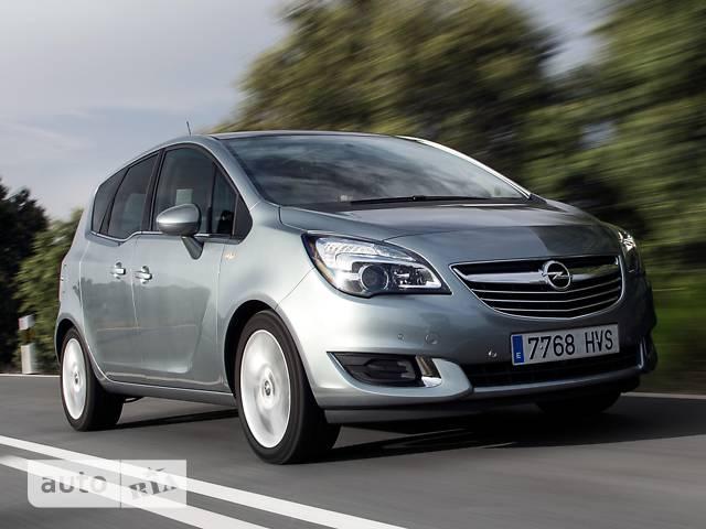 Opel Meriva 1.4 MT5  (120 л.с.) Selection