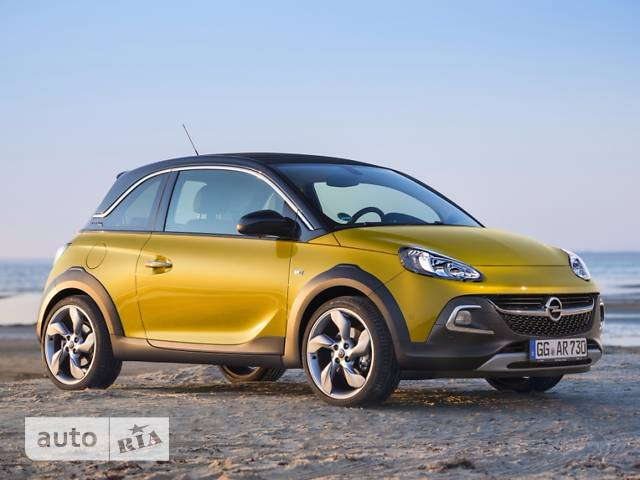 Opel Adam 1.4 МТA (85 л.с.) Rocks