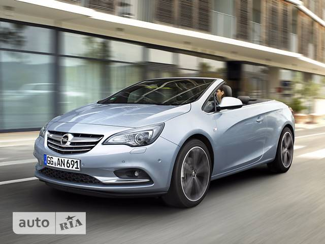 Opel Cascada 1.6 AT (170 л.с.) Cabriolet