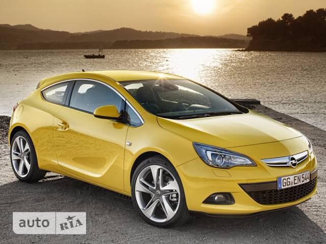 Opel Astra J GTC 1.4 AT (140 л.с.) Sport