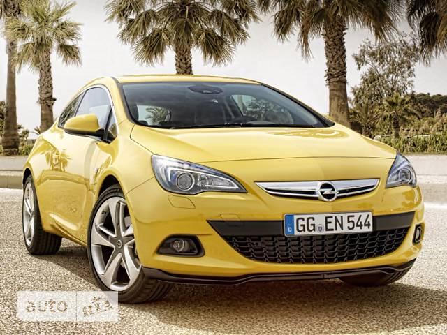Opel Astra J GTC 1.4 MT (120 л.с.) Start/Stop Sport
