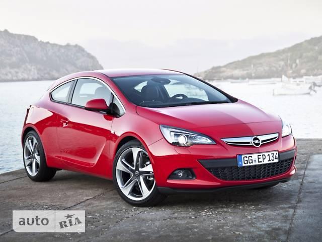 Opel Astra J GTC 1.6D MT (110 л.с.) Start/Stop Sport