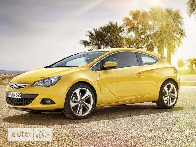 Opel Astra J GTC 1.4 MT (140 л.с.) Start/Stop Sport