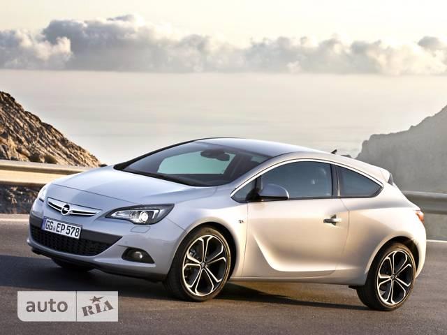 Opel Astra J GTC 1.6 AT (170 л.с.) Sport