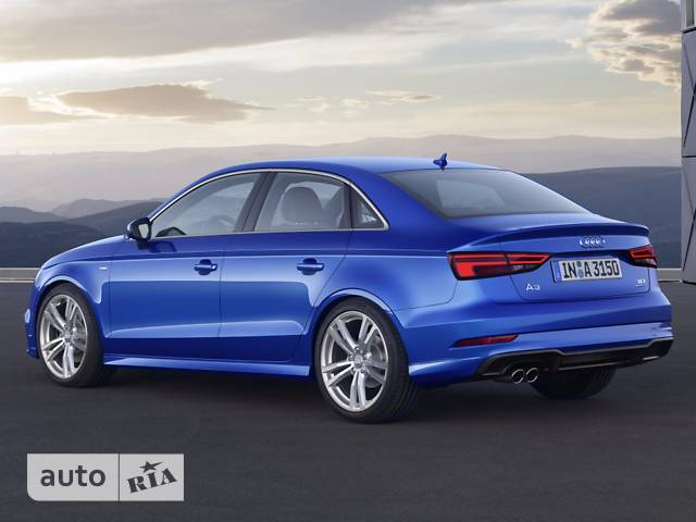 Audi A3 2.0 TFSI S-tronic (190 л.с.) Quattro S-line