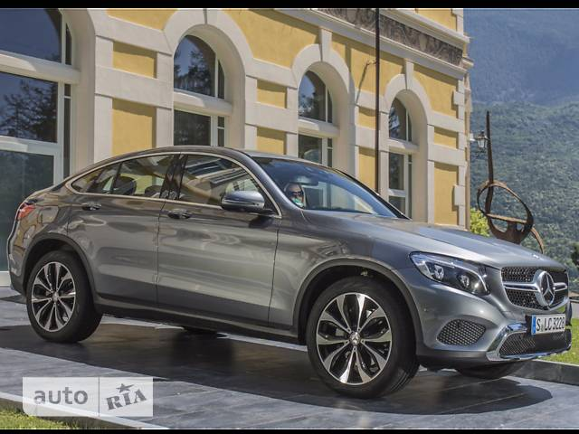 Mercedes-Benz GLC-Class GLC Coupe 220d AT (170 л.с.) 4Matic